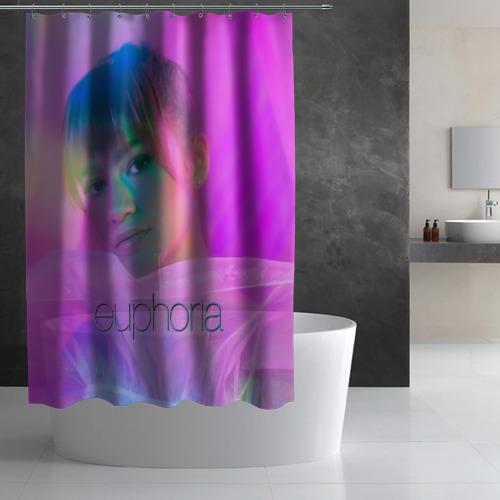 Штора 3D для ванной сериал Euphoria Фото 01