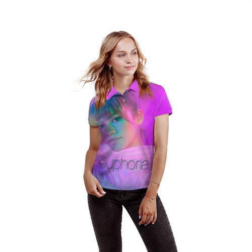 Женская рубашка поло 3D сериал Euphoria Фото 01