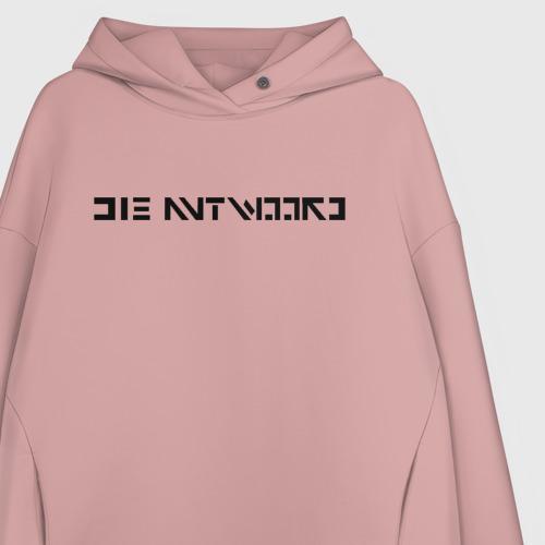 Женское худи Oversize хлопок Die Antwoord Фото 01