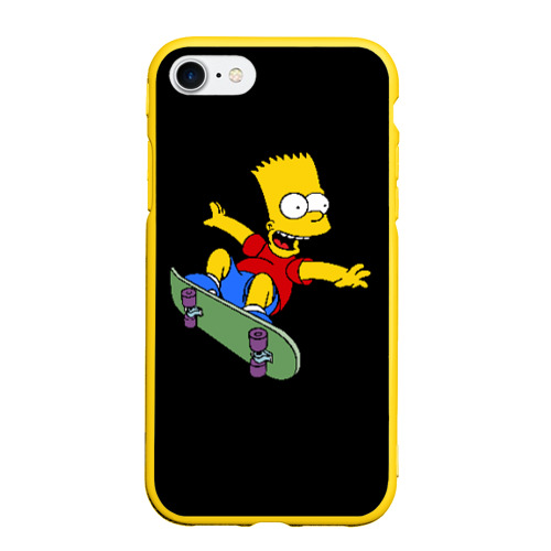 Чехол для iPhone 7/8 матовый Скейт Фото 01
