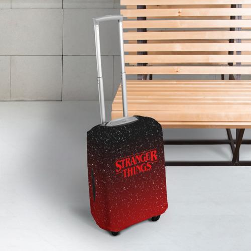 Чехол для чемодана 3D STRANGER THINGS Фото 01