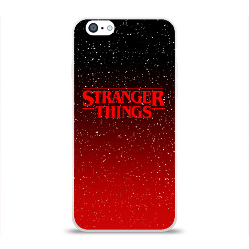 Чехол для Apple iPhone 6 силиконовый глянцевый STRANGER THINGS Фото 01