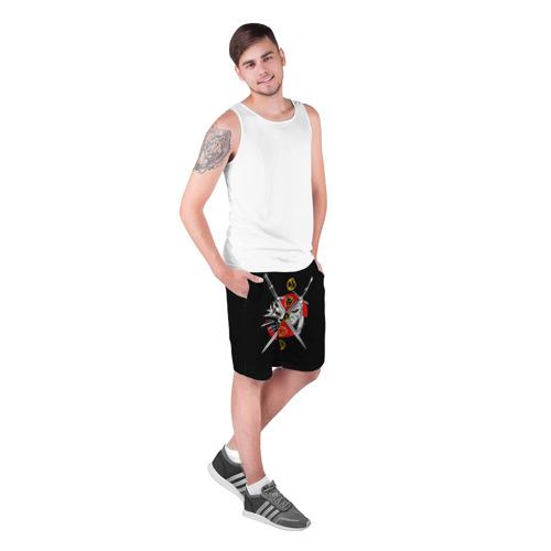 Мужские шорты 3D  Фото 03, Геральт