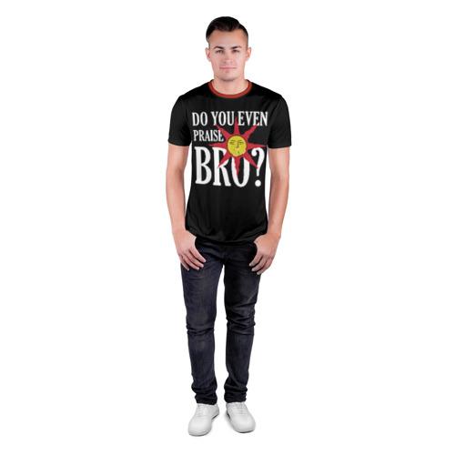 Мужская футболка 3D спортивная Bro Фото 01