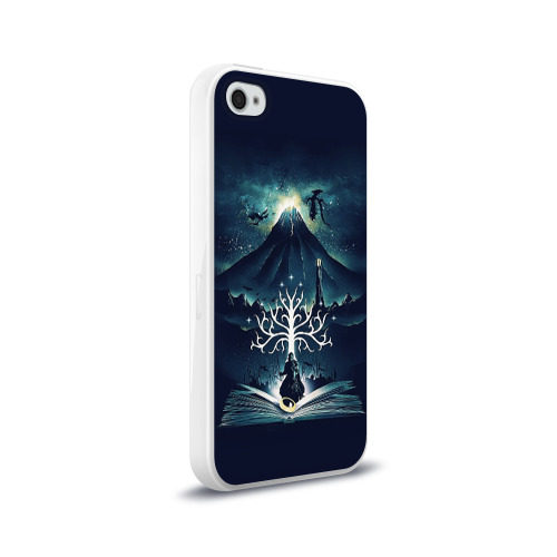 Чехол для Apple iPhone 4/4S силиконовый глянцевый The Lord of the Rings Фото 01