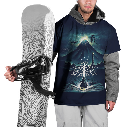 Накидка на куртку 3D The Lord of the Rings Фото 01