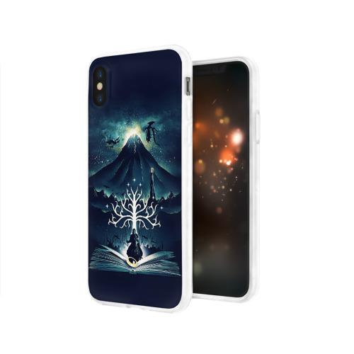 Чехол для Apple iPhone X силиконовый глянцевый The Lord of the Rings Фото 01
