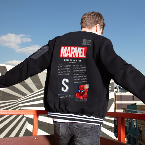 Мужской бомбер Марвел MARVEL Spider-man Limited Фото 01