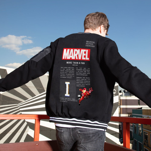 Мужской бомбер Марвел MARVEL iron-man Limited Фото 01
