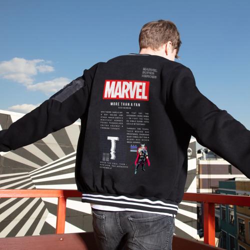 Мужской бомбер Марвел MARVEL Thor Limited Фото 01