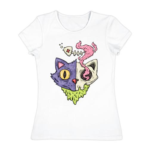 Женская футболка хлопок  Фото 01, Завтрак