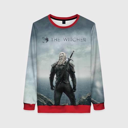 Женский свитшот 3D The Witcher Фото 01