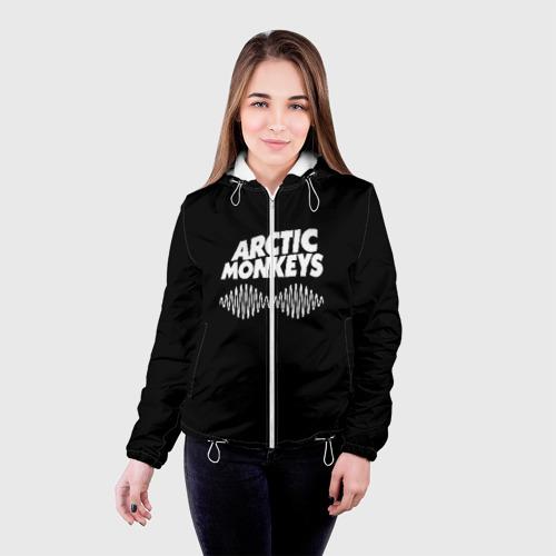 Женская куртка 3D ARCTIC MONKEYS Фото 01