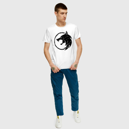 Мужская футболка хлопок Ведьмак Фото 01