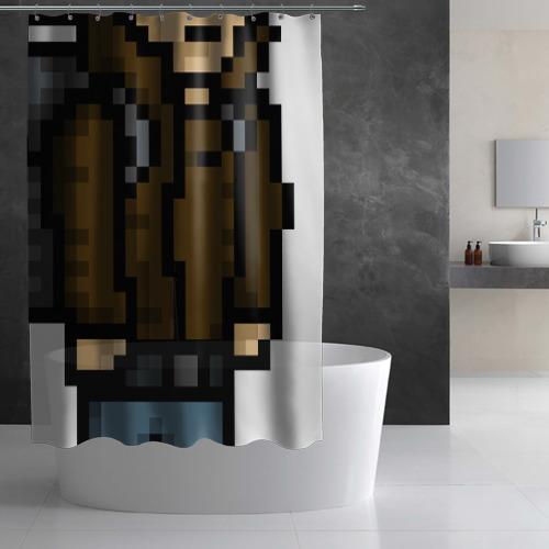 Штора 3D для ванной Adventurer Фото 01