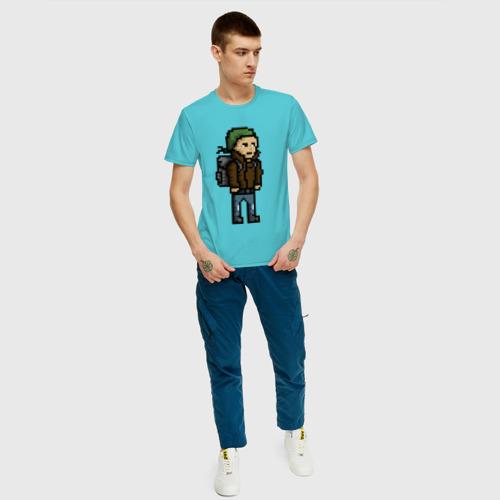 Мужская футболка хлопок Adventurer Фото 01