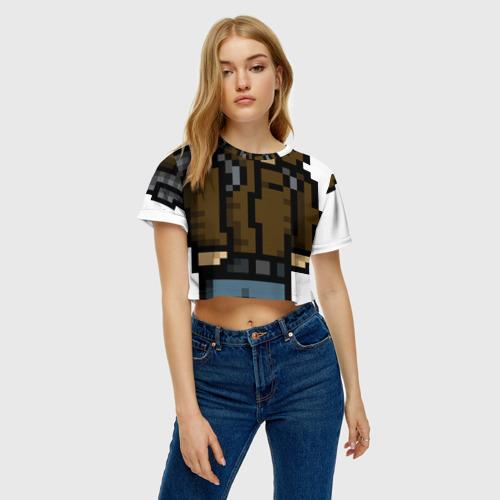 Женская футболка Crop-top 3D Adventurer Фото 01