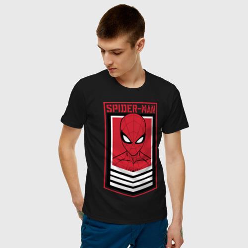 Мужская футболка хлопок Sppider-Man Фото 01