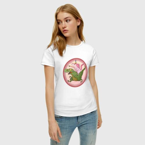 Женская футболка хлопок Вперёд к мечте! Фото 01