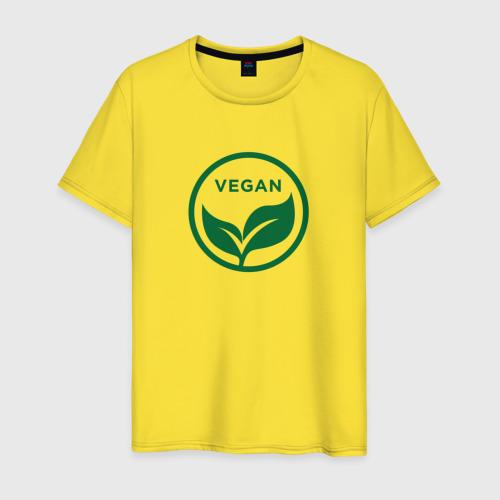 Мужская футболка хлопок Веган L фото