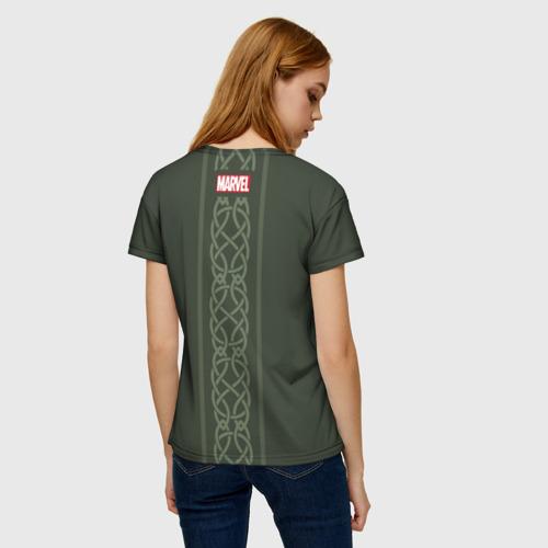 Женская футболка 3D Loki Фото 01