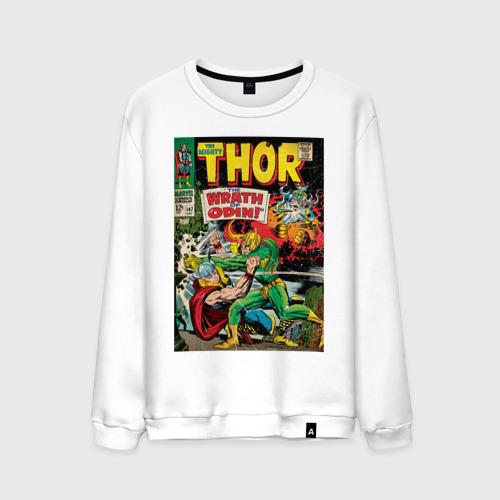 Мужской свитшот хлопок Thor vs Loki