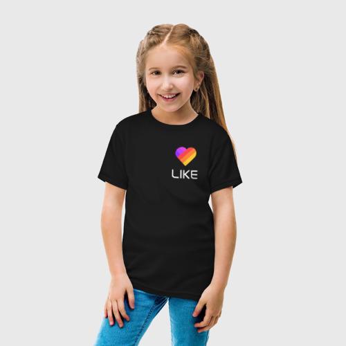 """Детская футболка из хлопка """"LIKE"""" фото 4"""