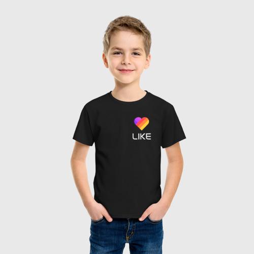 """Детская футболка из хлопка """"LIKE"""" фото 2"""
