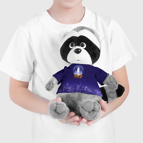 Игрушка Енотик в футболке 3D Отель Дель Луна Фото 01