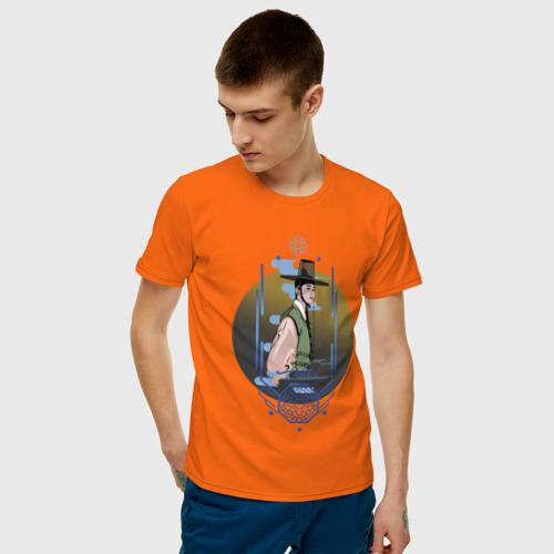 Мужская футболка хлопок Новичок-историк Гу Хэ Рён Фото 01