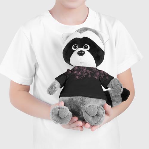 Игрушка Енотик в футболке 3D Весенняя ночь Фото 01