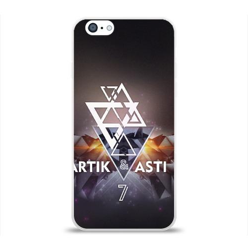 Чехол для Apple iPhone 6 силиконовый глянцевый ARTIK & ASTI 7 Фото 01