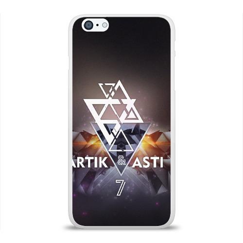 Чехол для Apple iPhone 6Plus/6SPlus силиконовый глянцевый ARTIK & ASTI 7 Фото 01