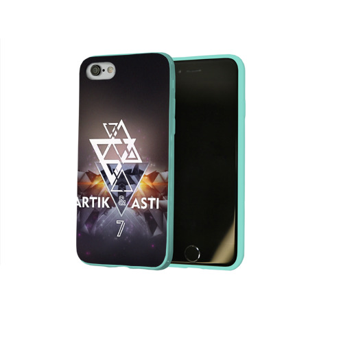 Чехол для Apple iPhone 8 силиконовый глянцевый ARTIK & ASTI 7 Фото 01