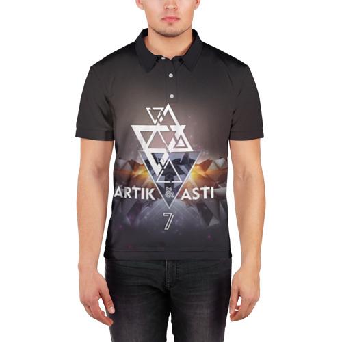 Мужская рубашка поло 3D ARTIK & ASTI 7 Фото 01