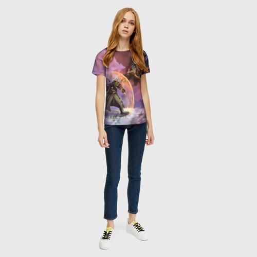Женская футболка 3D Ведьмак и Секиро Фото 01