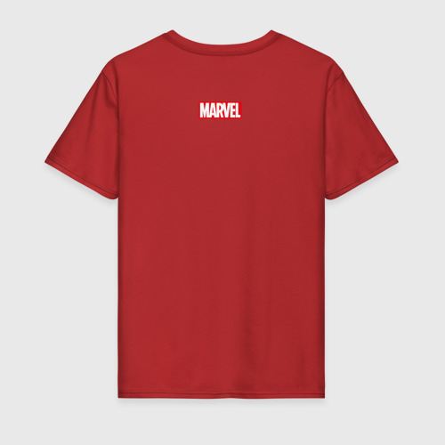 Мужская футболка хлопок Комикс Человек-паук Фото 01