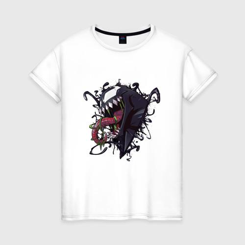 Женская футболка хлопок Venom