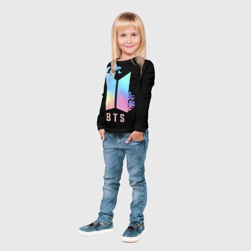 Детский лонгслив 3D BTS Фото 01