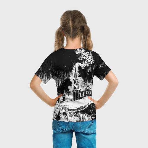 Детская футболка 3D Burzum за  1025 рублей в интернет магазине Принт виды с разных сторон