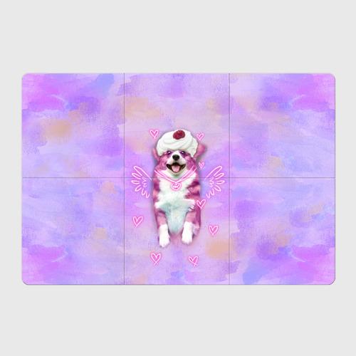 Магнитный плакат 3Х2 Ангелок корги Фото 01