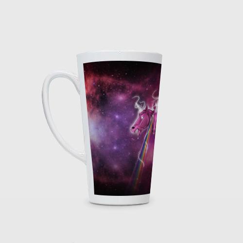 Кружка Латте Единороги в космосе