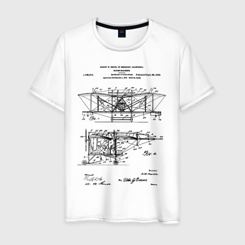 Мужская футболка хлопок Patent - Flying machine