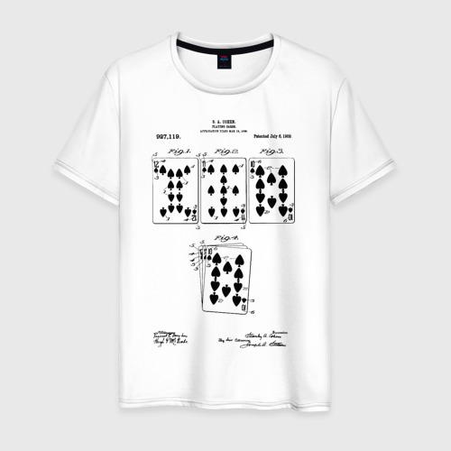 Мужская футболка хлопок Patent - Playing cards