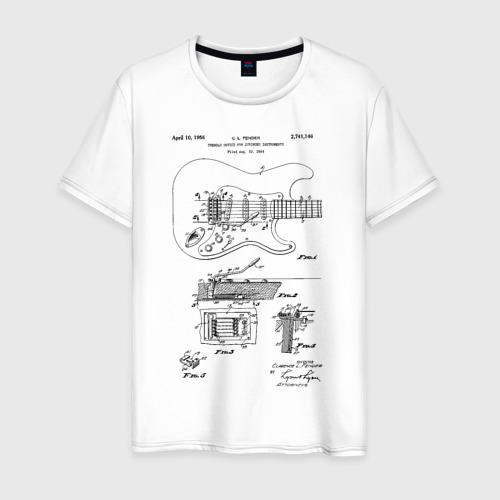 Мужская футболка хлопок Patent C. L. Fender