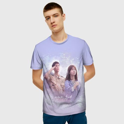 Мужская футболка 3D Потомки солнца Фото 01