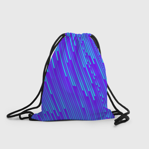 Рюкзак-мешок 3D Неоновые Линии Фото 01