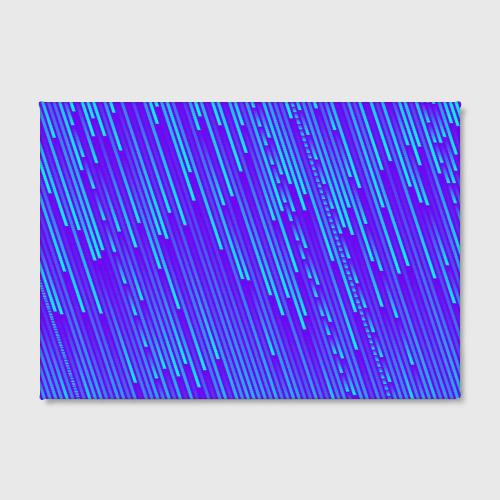 Холст прямоугольный Неоновые Линии Фото 01