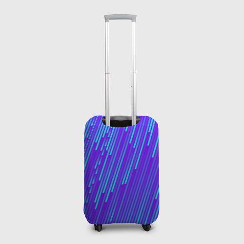 Чехол для чемодана 3D Неоновые Линии Фото 01