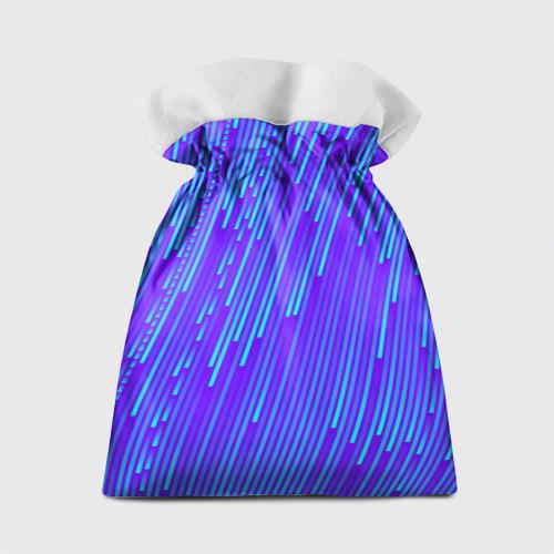 Подарочный 3D мешок Неоновые Линии Фото 01